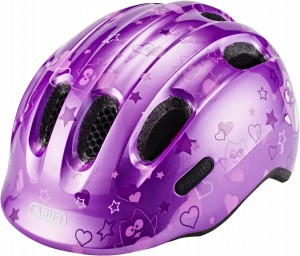 Kask rowerowy ABUS Smiley 2.0 Purple Star (S)45-50