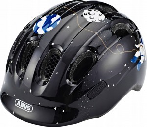 Kask rowerowy ABUS Smiley 2.0 Black Space (S)45-50