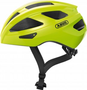 Kask rowerowy ABUS Macator SIGNAL Yellow (L) 58-62