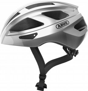 Kask rowerowy ABUS Macator GLEAM Silver (L) 58-62
