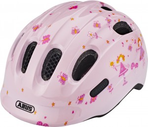 Kask rowerowy ABUS Smiley 2.0 Rose princess (S)