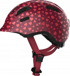 Kask rowerowy ABUS SMILEY 2.0 Cherry HEART S 45-50