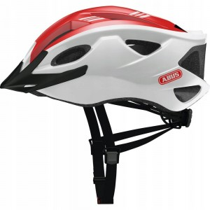 Kask rowerowy ABUS S-Cension (L) 58-62 Race Red