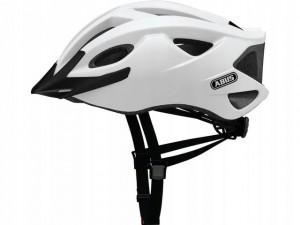 Kask rowerowy ABUS S-Cension (L) 58-62 Polar White