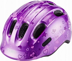 Kask rowerowy ABUS Smiley 2.0 Purple Star (M) 2019