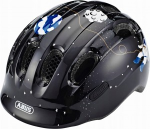 Kask rowerowy ABUS Smiley 2.0 Black Space (M) 2019