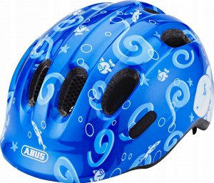 Kask rowerowy ABUS Smiley 2.0 Blue Sharky (M) 2019