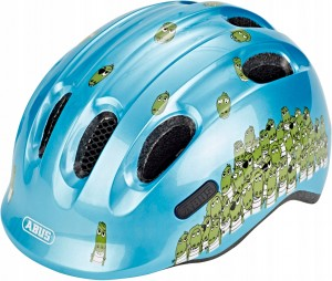 Kask rowerowy ABUS Smiley 2.0 Blue Croco (S) 2019